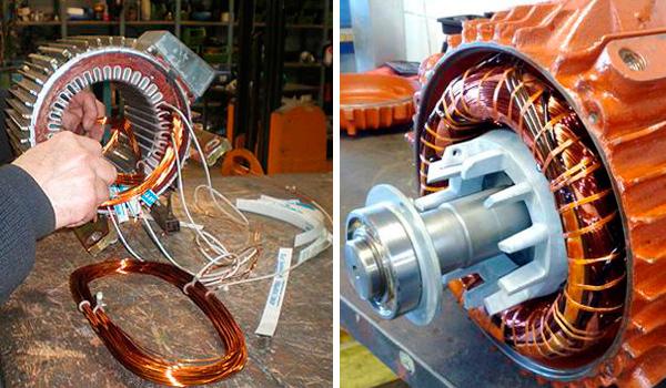 Reparación y bobinado de motores